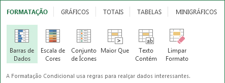 Analise rapida Excel 2013