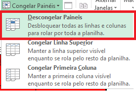 Descongelar Painéis
