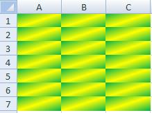 Gradiente Verde e Amarelo