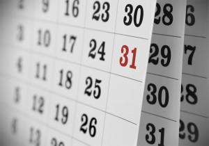 calendario 2016 em Excel