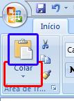 colar no Excel 2007